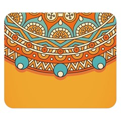 Sunshine Mandala Double Sided Flano Blanket (small)