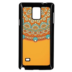 Sunshine Mandala Samsung Galaxy Note 4 Case (black)