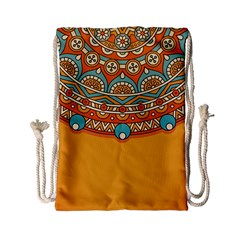 Sunshine Mandala Drawstring Bag (small)