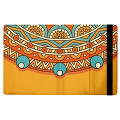 Sunshine Mandala Apple Ipad Pro 12 9   Flip Case