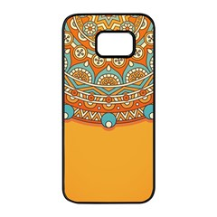 Sunshine Mandala Samsung Galaxy S7 Edge Black Seamless Case
