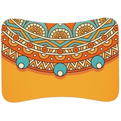Sunshine Mandala Velour Seat Head Rest Cushion