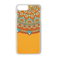 Sunshine Mandala Iphone 8 Plus Seamless Case (white)