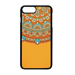 Sunshine Mandala Iphone 8 Plus Seamless Case (black)