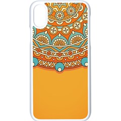 Sunshine Mandala Iphone X Seamless Case (white)