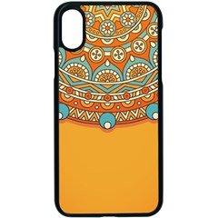 Sunshine Mandala Iphone Xs Seamless Case (black)