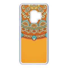 Sunshine Mandala Samsung Galaxy S9 Seamless Case(white)