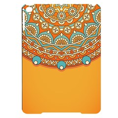 Sunshine Mandala Apple Ipad Pro 9 7   Black Uv Print Case