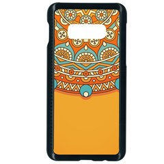 Sunshine Mandala Samsung Galaxy S10e Seamless Case (black)
