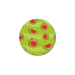 Seamless Background With Watermelon Slices Golf Ball Marker (10 Pack) by BangZart