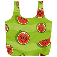 Seamless Background With Watermelon Slices Full Print Recycle Bag (xxxl)