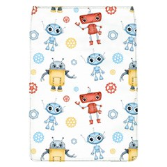 Cute Cartoon Robots Seamless Pattern Removable Flap Cover (l) by BangZart