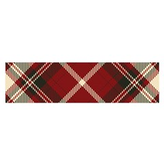 Tartan Scotland Seamless Plaid Pattern Vector Retro Background Fabric Vintage Check Color Square Satin Scarf (oblong)