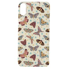 Pattern With Butterflies Moths Apple Iphone Xs Tpu Uv Case
