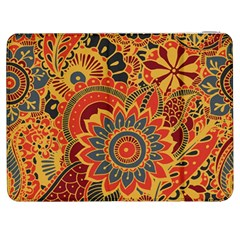 Bright Seamless Pattern With Paisley Elements Hand Drawn Wallpaper With Floral Traditional Samsung Galaxy Tab 7  P1000 Flip Case by BangZart
