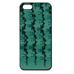 Branches Of A Wonderful Flower Tree In The Light Of Life Iphone 5 Seamless Case (black) by pepitasart