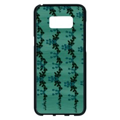 Branches Of A Wonderful Flower Tree In The Light Of Life Samsung Galaxy S8 Plus Black Seamless Case by pepitasart