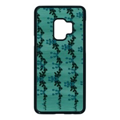 Branches Of A Wonderful Flower Tree In The Light Of Life Samsung Galaxy S9 Seamless Case(black) by pepitasart