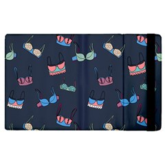 Bra Set Pattern Apple Ipad Pro 12 9   Flip Case by Bejoart