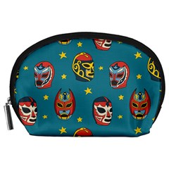 Mask Pattern Accessory Pouch (large)