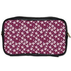 Small Flowers Pattern Toiletries Bag (one Side)