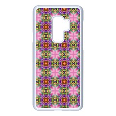 Seamless Psychedelic Pattern Samsung Galaxy S9 Plus Seamless Case(white)