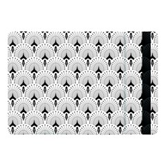 Black And White Art-deco Pattern Apple Ipad Pro 10 5   Flip Case by Dushan