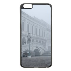 Fog Winter Scene Venice, Italy Iphone 6 Plus/6s Plus Black Enamel Case by dflcprintsclothing
