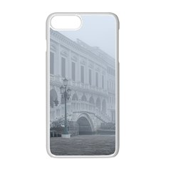 Fog Winter Scene Venice, Italy Iphone 7 Plus Seamless Case (white) by dflcprintsclothing