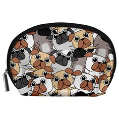 Many Dogs Pattern Accessory Pouch (large)