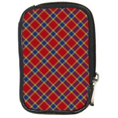 Scottish And Celtic Pattern - Braveheard Is Proud Of You Compact Camera Leather Case by DinzDas