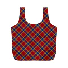 Scottish And Celtic Pattern - Braveheard Is Proud Of You Full Print Recycle Bag (m) by DinzDas