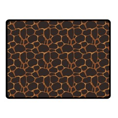 Animal Skin - Panther Or Giraffe - Africa And Savanna Fleece Blanket (small) by DinzDas
