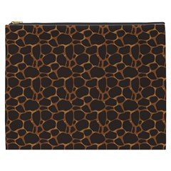 Animal Skin - Panther Or Giraffe - Africa And Savanna Cosmetic Bag (xxxl) by DinzDas
