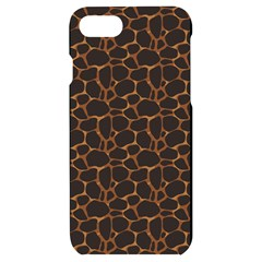 Animal Skin - Panther Or Giraffe - Africa And Savanna Iphone 7/8 Black Uv Print Case by DinzDas