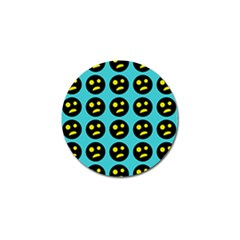 005 - Ugly Smiley With Horror Face - Scary Smiley Golf Ball Marker (10 Pack) by DinzDas