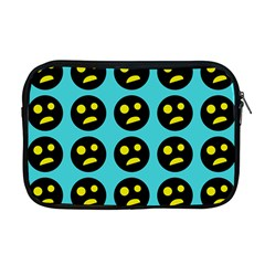 005 - Ugly Smiley With Horror Face - Scary Smiley Apple Macbook Pro 17  Zipper Case by DinzDas