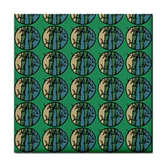 Bamboo Trees - The Asian Forest - Woods Of Asia Tile Coaster by DinzDas