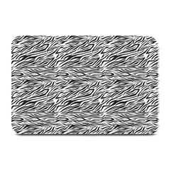Zebra Pattern - Zebras And Horses - African Animals Plate Mats by DinzDas