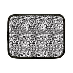 Zebra Pattern - Zebras And Horses - African Animals Netbook Case (small) by DinzDas