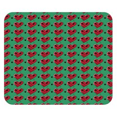 Evil Heart Graffiti Pattern Double Sided Flano Blanket (small)
