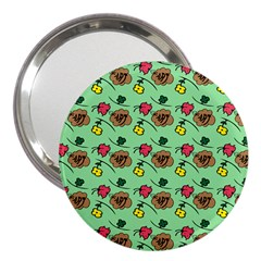 Lady Bug Fart - Nature And Insects 3  Handbag Mirrors