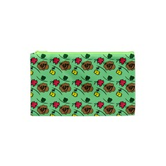 Lady Bug Fart - Nature And Insects Cosmetic Bag (xs) by DinzDas