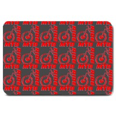 015 Mountain Bike - Mtb - Hardtail And Downhill Large Doormat  by DinzDas