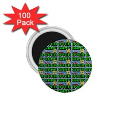 Game Over Karate And Gaming - Pixel Martial Arts 1 75  Magnets (100 Pack)  by DinzDas