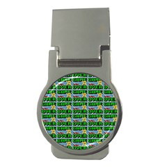 Game Over Karate And Gaming - Pixel Martial Arts Money Clips (round)  by DinzDas