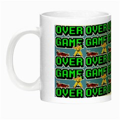 Game Over Karate And Gaming - Pixel Martial Arts Night Luminous Mugs by DinzDas