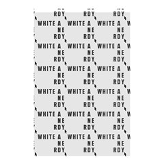 White And Nerdy - Computer Nerds And Geeks Shower Curtain 48  X 72  (small)  by DinzDas