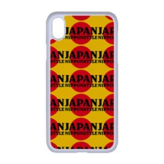 Japan Nippon Style - Japan Sun Iphone Xr Seamless Case (white) by DinzDas