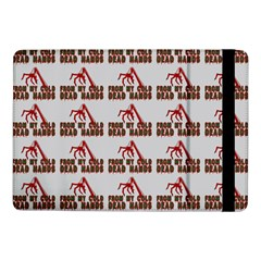 From My Dead Cold Hands - Zombie And Horror Samsung Galaxy Tab Pro 10 1  Flip Case by DinzDas